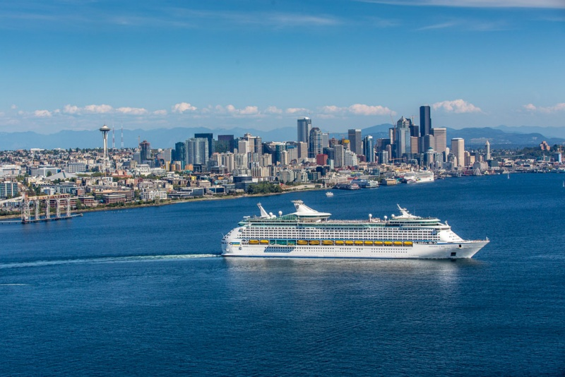 Explorer of the Seas Outbound from Seattle