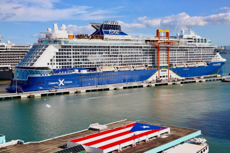 Celebrity Edge in St. Maarten