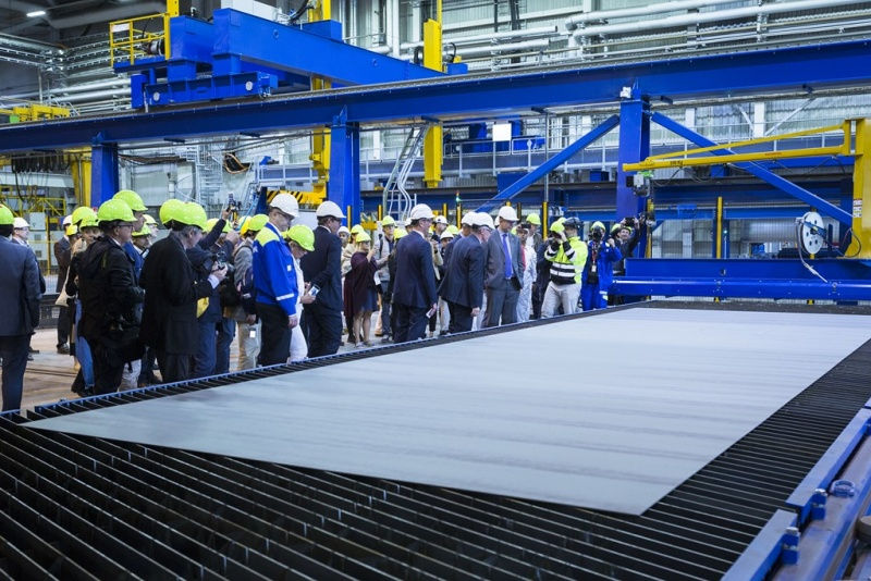 Costa Steel Cutting Ceremony