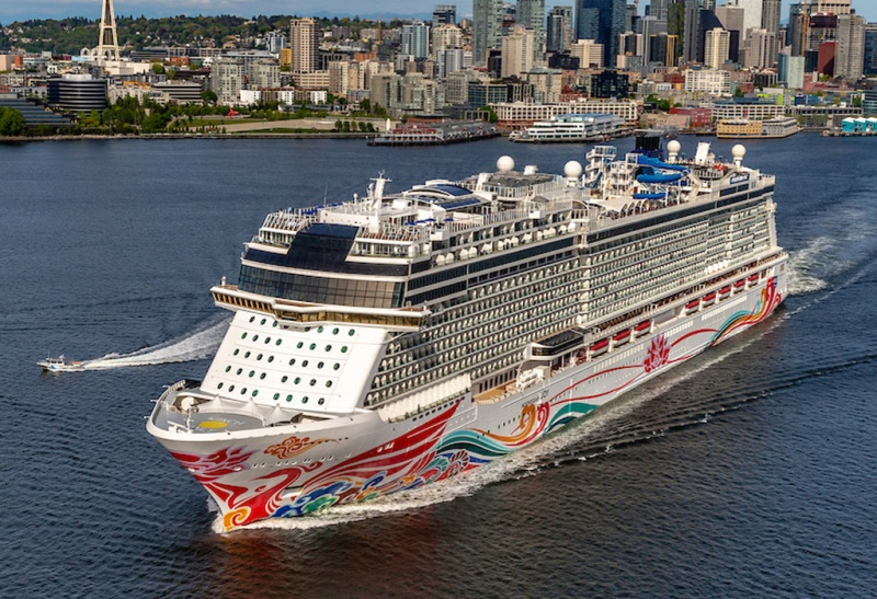 Norwegian Joy in Seattle