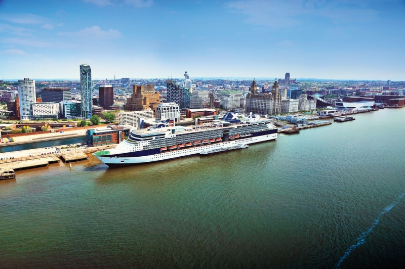 Celebrity ship calls in Liverpool