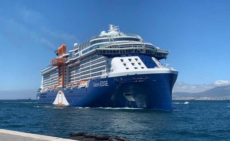 Celebrity Edge in Gibraltar