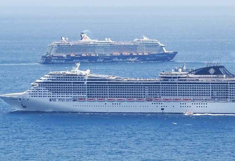 MSC and TUI Ships