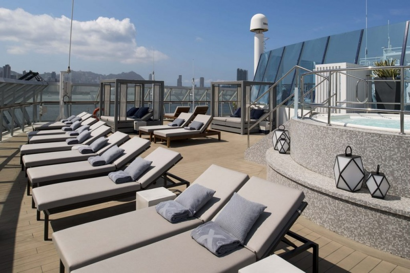 "In collaboration with famed interior designer Kelly Hoppen, MBE, Celebrity Cruises revealed The Retreat Sundeck, a ""revolutionized"" haven for suite guests."