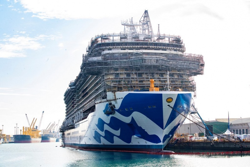 Sky Princess at Fincantieri