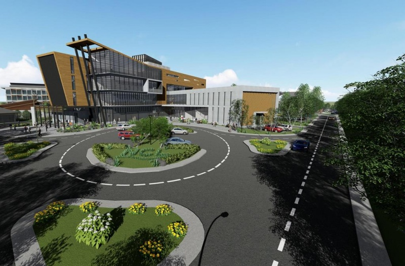 NCLH Training Facility Rendering