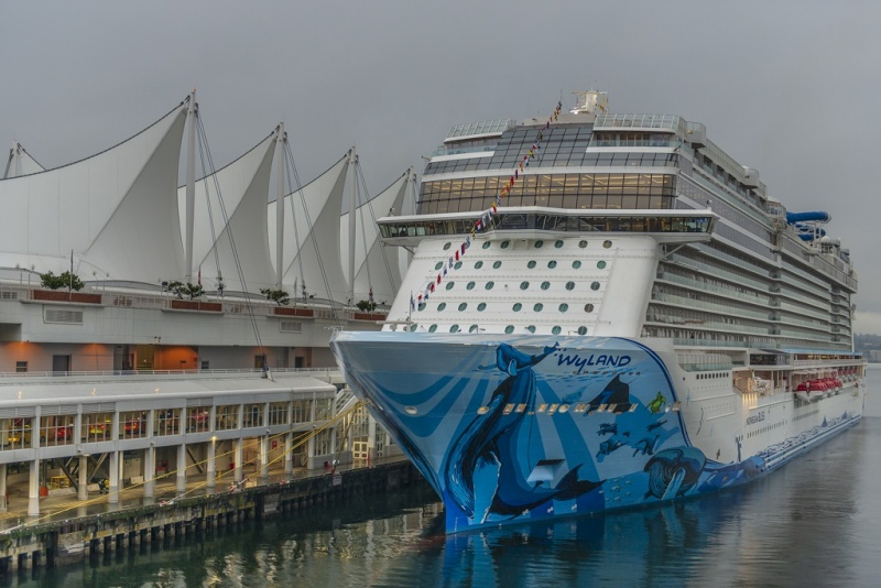 Norwegian Bliss in Vancouver
