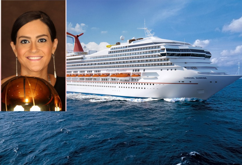 Kelly Arison Named Godmother to Carnival Sunrise