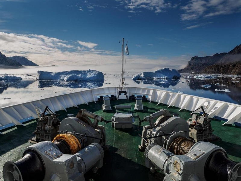 Out of the Northwest Passage (photo credit: Bert Jenkins)