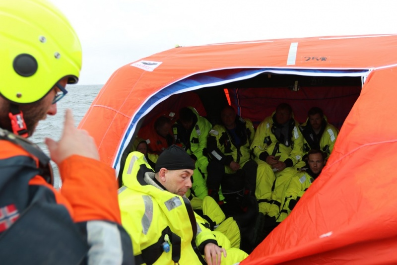 Lifeboats need to offer more space and improved heating and ventilation.