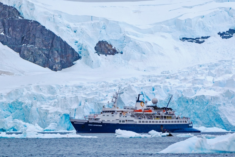 Quark has a significant presence in China, sourcing guests for Antarctica and Arctic sailings.