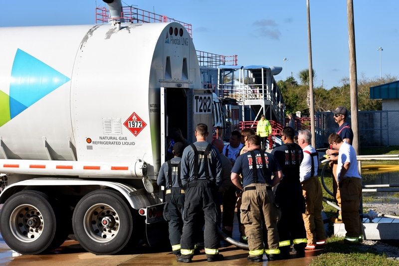 LNG Firefighting Training