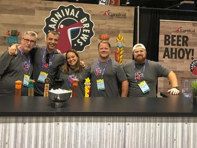Carnival Team at Great American Beer Festival