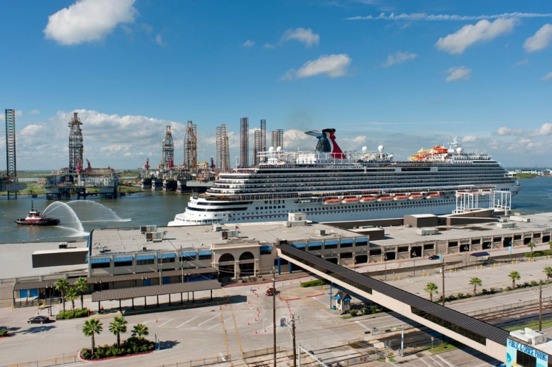Carnival Vista in Galveston