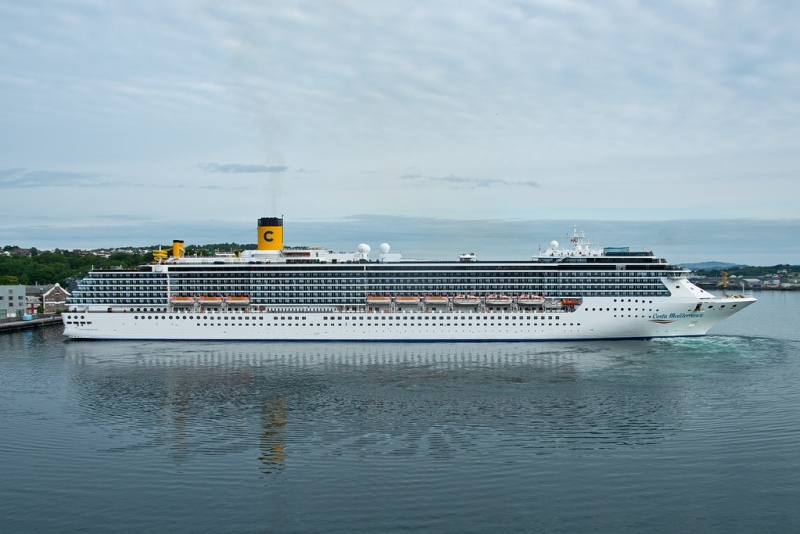 Costa Mediterranea  (Photo: JD Schwartz)