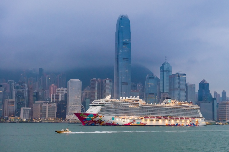 Genting Dream in Hong Kong