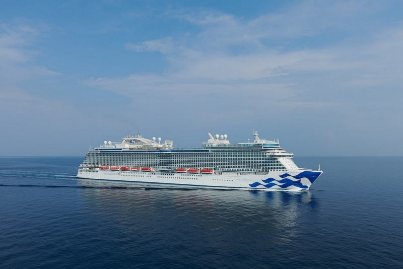 Sky Princess Completes Successful Sea Trials
