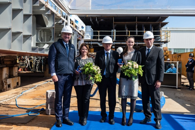 MSC Seashore Keel Laying