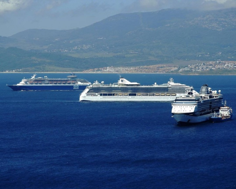 Royal Caribbean Cruises fleet in Gibratlar