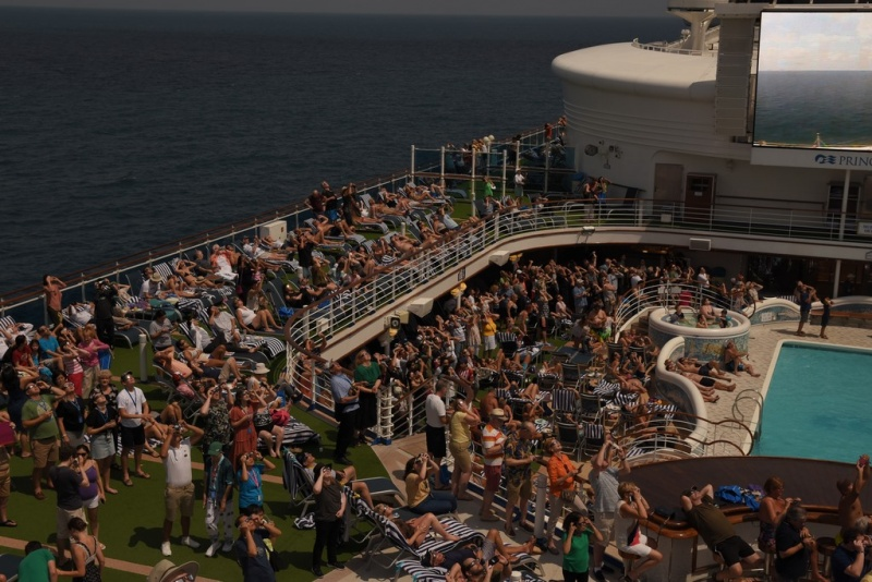 Onboard the Sapphire Princess for the Solar Eclipse