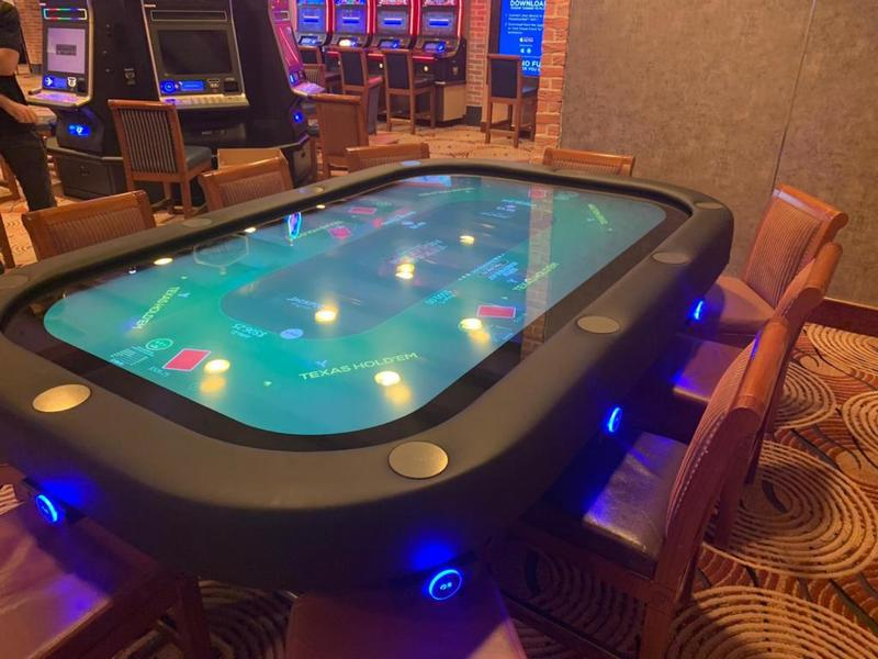 Jackpot Blitz installed on Crown Princess