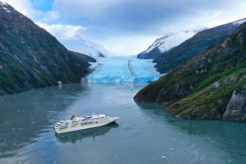 MS Hamburg Garibaldi Glacier and Fjord